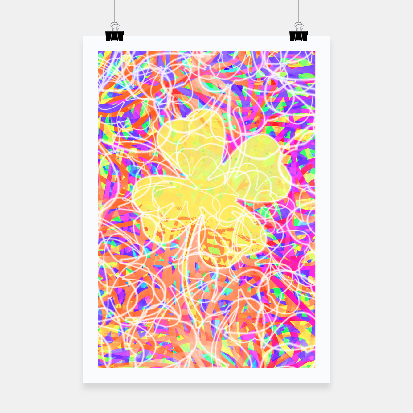 Image of clvr Poster - Live Heroes