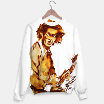 Thumbnail image of Chuck berry coffee guitar rock C Sweater, Live Heroes
