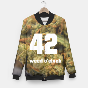 Thumbnail image of 4:20 Baseball Jacket, Live Heroes