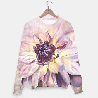 Thumbnail image of GORGEOUS DAHLIAS Sweater, Live Heroes