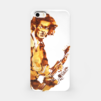 Thumbnail image of Chuck berry coffee guitar rock C iPhone Case, Live Heroes