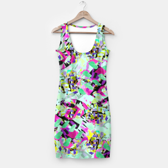 Thumbnail image of ABSTract Floral  Simple Dress, Live Heroes