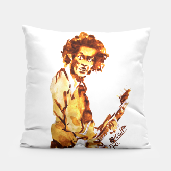 Thumbnail image of Chuck berry coffee guitar rock C Pillow, Live Heroes