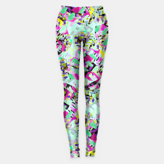 Thumbnail image of ABSTract Floral  Leggings, Live Heroes