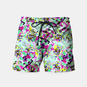 Thumbnail image of ABSTract Floral  Swim Shorts, Live Heroes