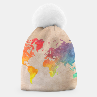 Thumbnail image of world map color Czapka, Live Heroes