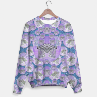 Thumbnail image of Tribute to heavy metal and safety pop art Sweater, Live Heroes