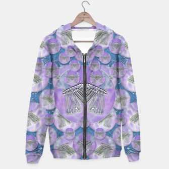Thumbnail image of Tribute to heavy metal and safety pop art Hoodie, Live Heroes