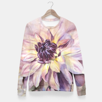 Thumbnail image of GORGEOUS DAHLIAS Fitted Waist Sweater, Live Heroes