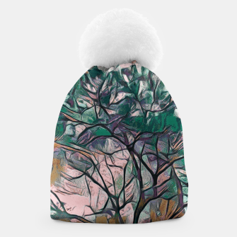Thumbnail image of GREEN TREE PAINTING Beanie, Live Heroes