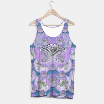 Thumbnail image of Tribute to heavy metal and safety pop art Tank Top, Live Heroes