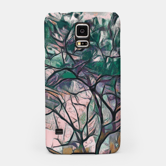 Thumbnail image of GREEN TREE PAINTING Samsung Case, Live Heroes