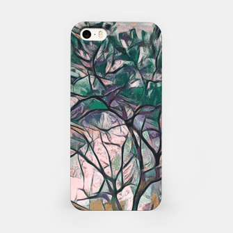 Thumbnail image of GREEN TREE PAINTING iPhone Case, Live Heroes