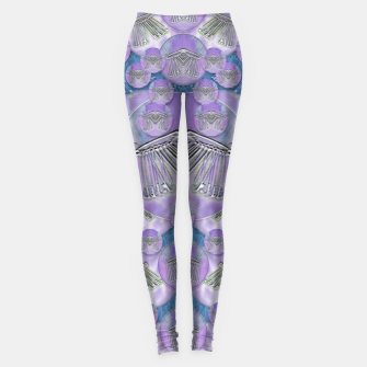 Thumbnail image of Tribute to heavy metal and safety pop art Leggings, Live Heroes