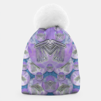 Thumbnail image of Tribute to heavy metal and safety pop art Beanie, Live Heroes