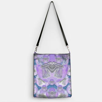 Thumbnail image of Tribute to heavy metal and safety pop art Handbag, Live Heroes