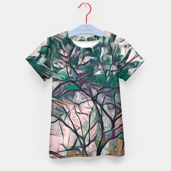 Thumbnail image of GREEN TREE PAINTING Kid's T-shirt, Live Heroes