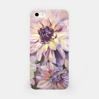 Thumbnail image of GORGEOUS DAHLIAS iPhone Case, Live Heroes
