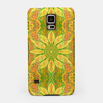 Thumbnail image of Sun Flower,  yellow, green and orange Samsung Case, Live Heroes