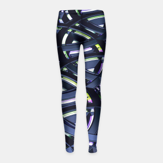 Thumbnail image of Honor Girl's Leggings, Live Heroes