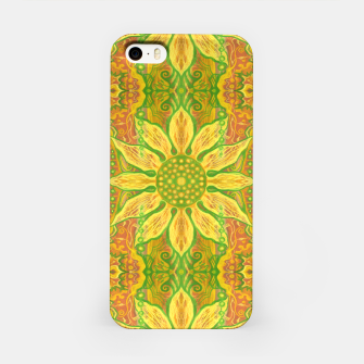 Thumbnail image of Sun Flower,  yellow, green and orange iPhone Case, Live Heroes