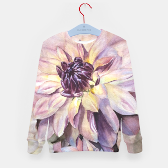 Thumbnail image of GORGEOUS DAHLIAS Kid's Sweater, Live Heroes