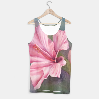 Thumbnail image of TROPICAL PINK HIBISCUS Tank Top, Live Heroes