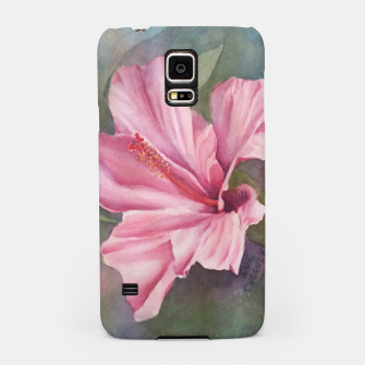 Thumbnail image of TROPICAL PINK HIBISCUS Samsung Case, Live Heroes
