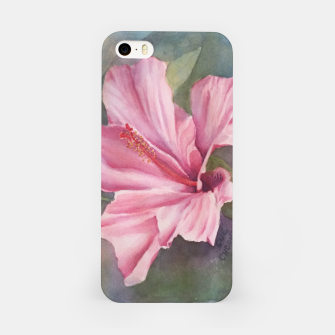 Thumbnail image of TROPICAL PINK HIBISCUS iPhone Case, Live Heroes