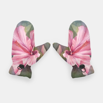 Thumbnail image of TROPICAL PINK HIBISCUS Gloves, Live Heroes