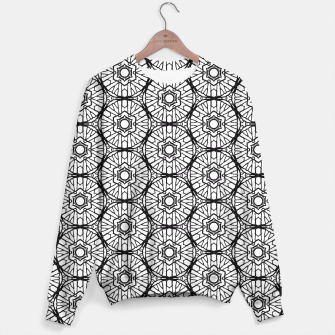 Thumbnail image of Black and white Sweater, Live Heroes