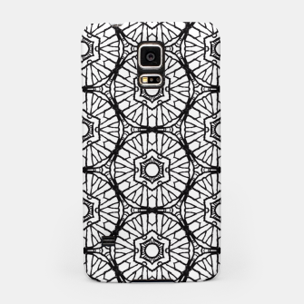 Thumbnail image of Black and white Samsung Case, Live Heroes