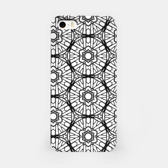 Thumbnail image of Black and white iPhone Case, Live Heroes