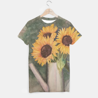 Thumbnail image of HAPPY SUNFLOWERS T-shirt, Live Heroes