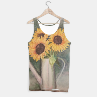 Thumbnail image of HAPPY SUNFLOWERS Tank Top, Live Heroes
