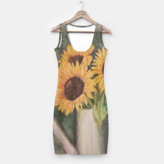 Thumbnail image of HAPPY SUNFLOWERS Simple Dress, Live Heroes