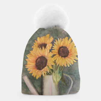 Thumbnail image of HAPPY SUNFLOWERS Beanie, Live Heroes