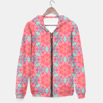 Thumbnail image of Abstract Flowers Hoodie, Live Heroes