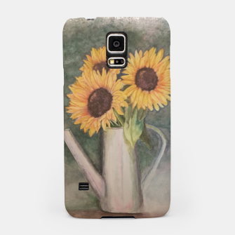 Thumbnail image of HAPPY SUNFLOWERS Samsung Case, Live Heroes