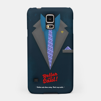 "Thumbnail image of Better Call Saul - Suit No. #4 - James Morgan ""Jimmy"" McGill's Style. Samsung Case, Live Heroes"