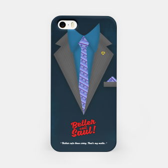 """Thumbnail image of Better Call Saul - Suit No. #4 - James Morgan """"Jimmy"""" McGill's Style. iPhone Case, Live Heroes"""