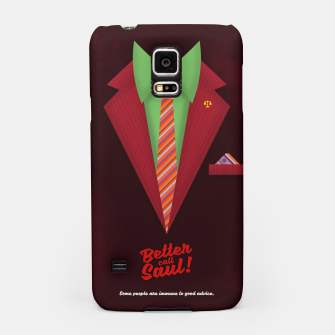 "Thumbnail image of Better Call Saul - Suit No. #5 - James Morgan ""Jimmy"" McGill's Style. Samsung Case, Live Heroes"