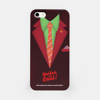 """Thumbnail image of Better Call Saul - Suit No. #5 - James Morgan """"Jimmy"""" McGill's Style. iPhone Case, Live Heroes"""