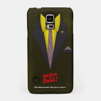 "Thumbnail image of Better Call Saul - Suit No. #6 - James Morgan ""Jimmy"" McGill's Style. Samsung Case, Live Heroes"