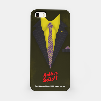 """Thumbnail image of Better Call Saul - Suit No. #6 - James Morgan """"Jimmy"""" McGill's Style. iPhone Case, Live Heroes"""