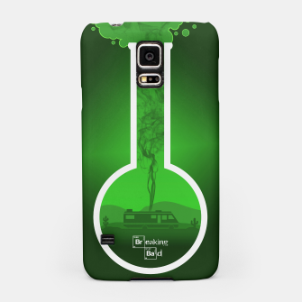 Thumbnail image of Breaking Bad - Minimal TV Poster - Br Ba Green Samsung Case, Live Heroes