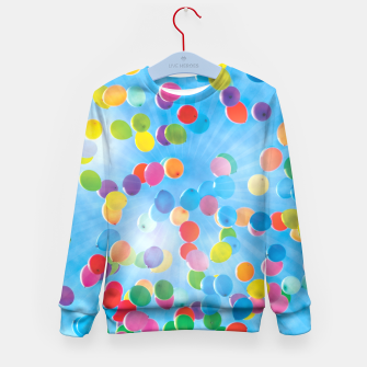Thumbnail image of BALLOONS Kid's Sweater, Live Heroes