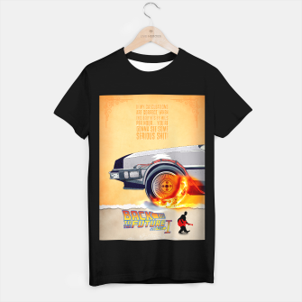 Thumbnail image of Back to the Future - Minimal Movie - Part 1 of 3 Alternative T-shirt regular, Live Heroes