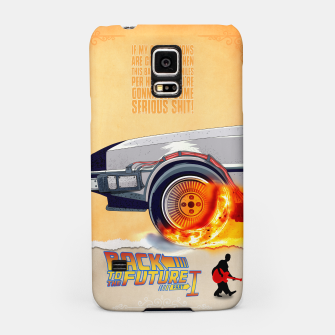 Thumbnail image of Back to the Future - Minimal Movie - Part 1 of 3 Alternative Samsung Case, Live Heroes