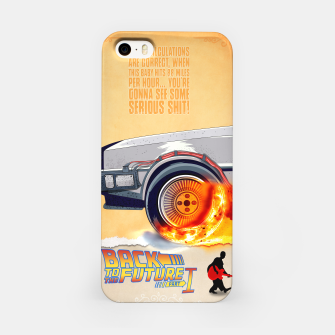 Thumbnail image of Back to the Future - Minimal Movie - Part 1 of 3 Alternative iPhone Case, Live Heroes